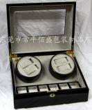 高档喷漆木质盒机械手表自动上链盒马达盒晃表器礼品盒可厂家订做