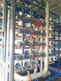 岚慈110吨每小时双级反渗透RO纯水机、工业纯水设备、大型净水设备