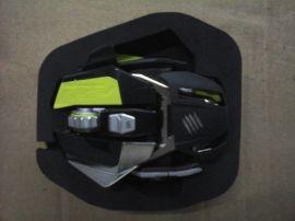 鼠标包装EVA内衬盒/鼠标EVA定位内托盒厂/深圳EVA雕刻厂