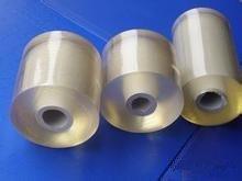 北仑PVC缠绕膜厂家、绿色、黄色、透明捆扎膜、宽10公分