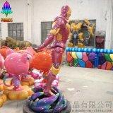 尚雕坊SDF2015H210CM鋼鐵俠玻璃鋼雕塑 影視道具 現貨租賃