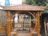 青島防腐木涼亭,庭園木亭廊 設計施工