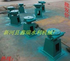 10T手摇启闭机 铸铁镶铜圆闸门 河北新河县鑫瑞水利机械厂