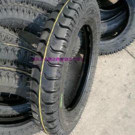 4.00-16拖拉机前轮轮胎 羊角花纹农用车轮胎