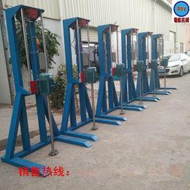 东莞勄航机械供应2.2KW电动高速油漆涂料剪切分散机 质量保证