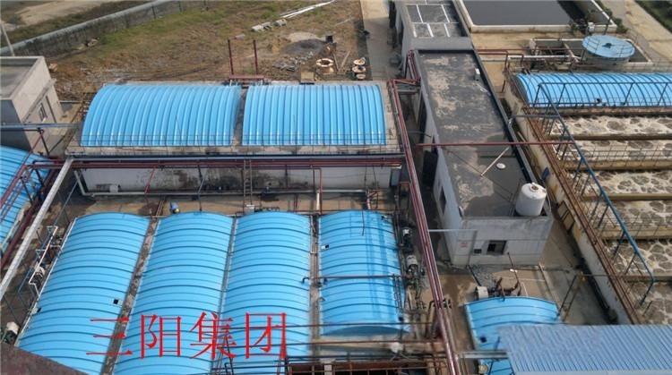 玻璃钢拱形加盖 玻璃钢集气罩 污水处理罩 煤矿集气罩 大跨