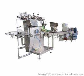 外卖餐具套装一次性筷子牙签餐巾纸汤勺四件套自动包装机
