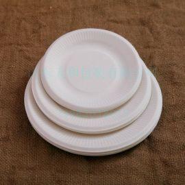 天和厂家供应:P002蛋糕小碟 7寸圆盘,环保餐盒,一次性餐具,纸浆模塑可定制,纸杯,纸盘,蛋糕托,托盘。