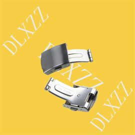 深圳市德利鑫DLXZZ0.7mm**不锈钢双按表带扣优惠智能扣厂家批发