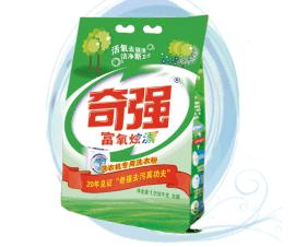 奇強洗衣粉全自動超濃縮無磷1.7kg內附小勺適合機洗