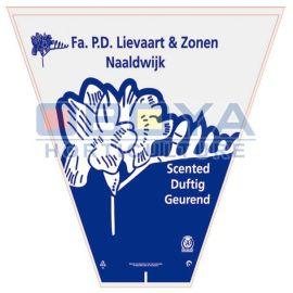 青岛欧勃亚设计、生产鲜花包装袋、鲜花袋