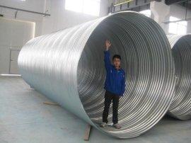热浸塑钢质电缆保护管热浸塑钢质波纹管波纹钢管