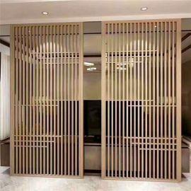 古建改造仿古铝花格 门窗木纹铝花格 厂家直销 规格齐全