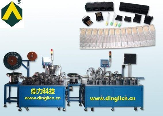 RJ45带灯自动机,RJ45组装机,东莞市鼎力自动化科技有限公司,