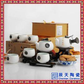 供应  茶具套装礼品 手绘陶瓷茶具   茶具 陶瓷茶具 景德镇茶具批发