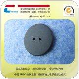 厂家直销超高频电子标签/RFID洗衣标签/耐高温耐磨abs洗水标签,纽扣圆形