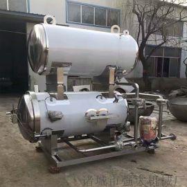 厂家直销强大鸡腐丸子杀菌锅休闲食品杀菌釜