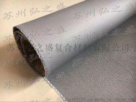 供应挡烟装饰布 防火帆布 灰色防火布 银灰色硅胶布