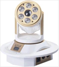 LED双子星摇头染色灯