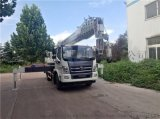 福田12吨吊车起重机 12吨汽车吊 徐工大臂