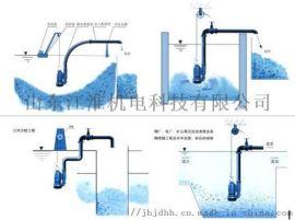 双管齐下吸沙排污泵潜水泥浆泵服务周到