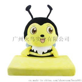 蜜蜂**儿童乳胶枕卡通枕头动物枕头儿童护颈椎