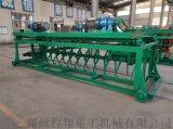 猪粪发酵翻耙机 有机肥槽式翻堆机,有机肥设备
