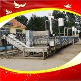 大型魚豆腐蒸線成套生產加工設備大型蒸汽蒸線設備