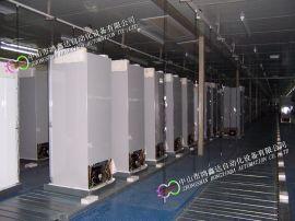 佛山冰箱装配线,中山冰柜生产线,冷柜抽真空检测线
