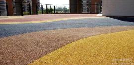 达州市透水地坪;透水混凝土;压花地坪;压模地坪