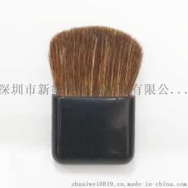新妍美厂家供应粉饼眼影配套化妆刷 扁刷粉底刷腮红刷 便携刷 蜜粉刷子