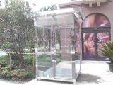 美观大方质优价廉值班岗亭玻璃岗亭收费岗亭移动值班室方形玻璃亭