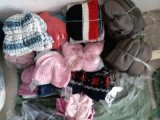 儿童冷帽 冬帽 棉毛线防寒帽 现货 混款 0-8岁