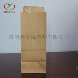 牛皮纸方底纸袋外卖打包袋食品袋礼品饰品袋