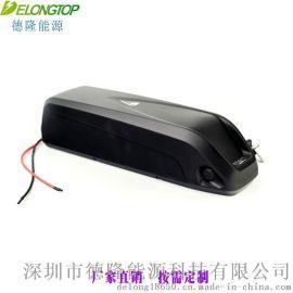 专业生产改装山地车锂电池48V10.4Ah海龙款
