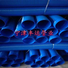 PVC通风除尘管透明塑筋波纹管工业伸缩吸尘风管