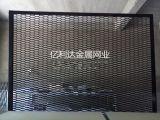 吊頂專用-黑色噴塑六角孔鋼板網