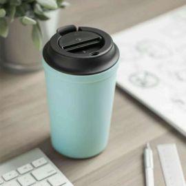 不倒杯咖啡杯ins隨手杯塑料水杯防漏便攜杯子340ml