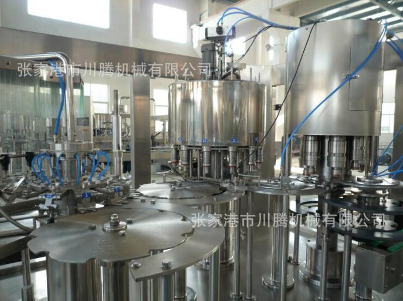 新款果汁饮料全自动生产线 川腾机械 饮料灌装机