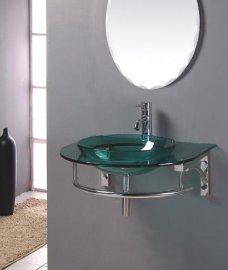 玻璃台盆(B-029)