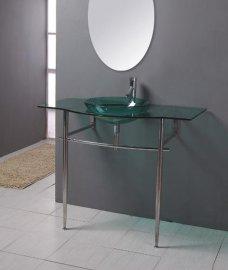 玻璃台盆(B-024)