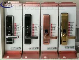 成都不鏽鋼智慧指紋密碼鎖家用防盜鎖304不鏽鋼鎖體