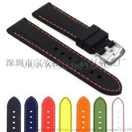 18至28mm多尺寸车线硅橡胶表带
