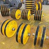 10t轴承滑轮组 铸钢滑轮组 400/450滑轮片