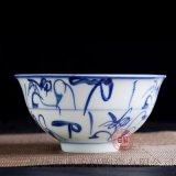 陶瓷碗定做厂家 青花瓷饭碗定做