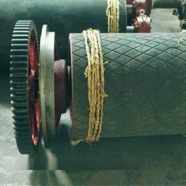 聚氨酯皮带机滚筒直销 皮带机滚筒包橡胶