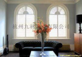 定制实木百叶门窗,PVC百叶门窗,木质透气窗,木质透气隔断窗