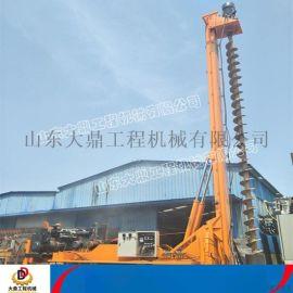 履带式长螺旋 建筑工程地基打桩机