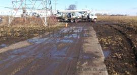铺路防滑板|聚乙烯板|耐磨聚乙烯铺路板