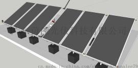 平板太阳能集热器 标准板2米*1米,茵能